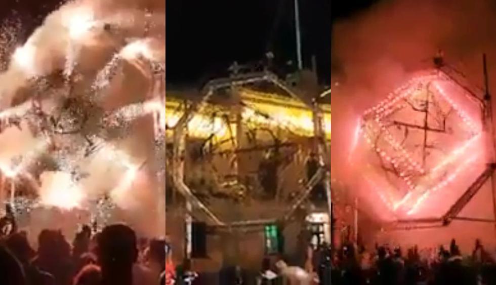 Una fiesta en México terminó con la muestra de fuegos artificiales y amenizados por las canciones de David Guetta en el Tomorrowland 2017. (Foto: captura)