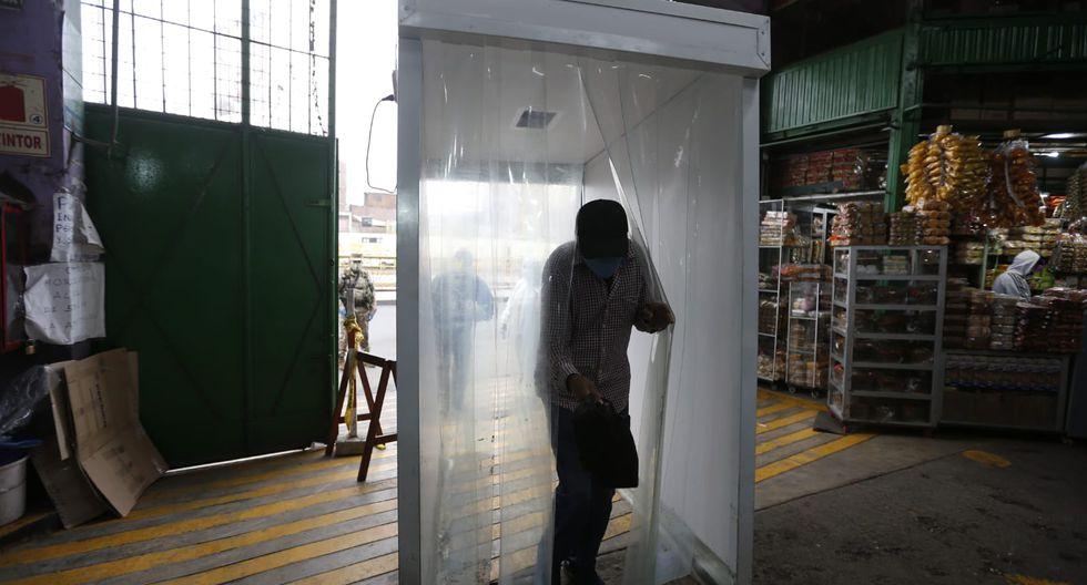 Desde el lunes, el centro de abasto operará solo con el 30% de comerciantes. (Foto: Violeta Ayasta/GEC)