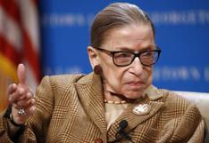 Muere a los 87 años Ruth Bader Ginsburg, la jueza progresista de la Corte Suprema de EE.UU.
