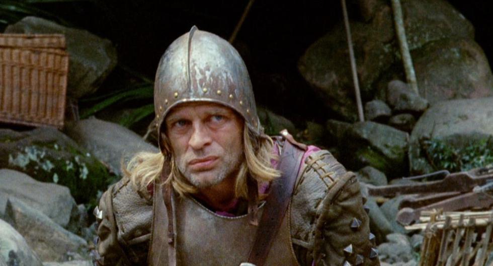 """Klaus Kinski como Lope de Aguirre en la película de Werner Herzog  """"Aguirre, la ira de Dios"""". (Foto: Werner Herzog Filmproduktion)"""