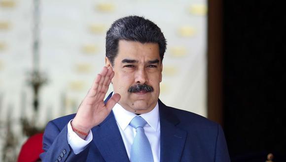 El presidente de Venezuela, Nicolás Maduro. (Foto: Marcelo Garcia / various sources / AFP).
