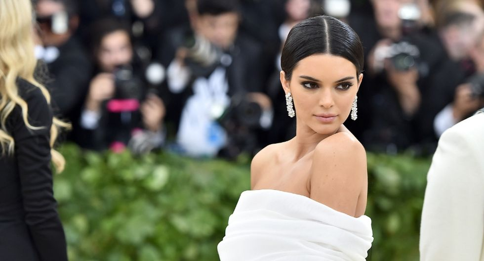 Kendall Jenner subió un inusual video a Instagram Stories. (AFP)
