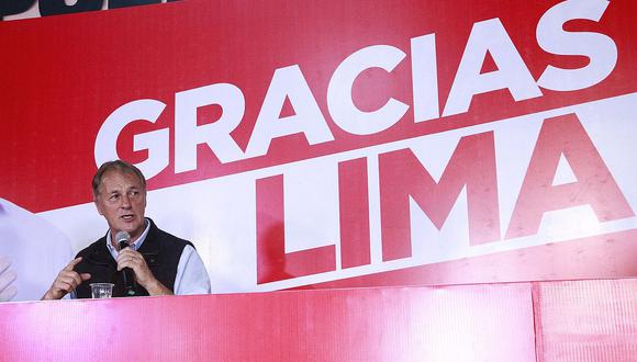Respecto a la corrupción, Jorge Muñoz dijo que durante toda su vida como funcionario público jamás se ha visto envuelto en casos de corrupción. (Foto: Andina)