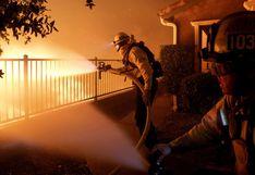 Las imágenes de los terribles incendios en California: 100.000 evacuados