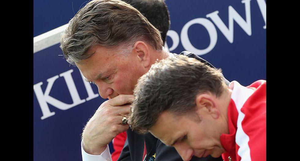 Decepción y tristeza de los jugadores del Manchester United   - 15