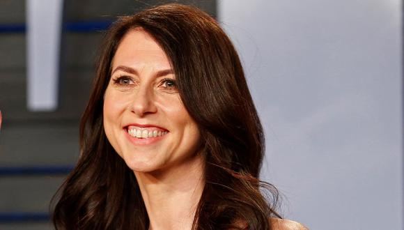 MacKenzie Scott se convirtió en la mujer más rica del mundo. (Reuters).