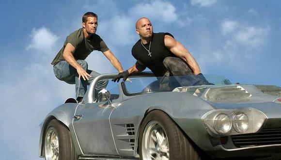 """Los actores Paul Walker y Vin Diesel en """"Rápidos y furiosos 6"""". (Foto: Universal Pictures)"""