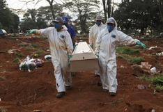Brasil registra 243 muertes y 8.668 infecciones por coronavirus en un día