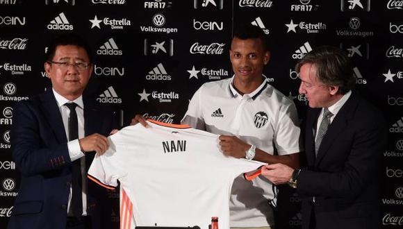 """Nani tras presentarse en el Valencia CF: """"Era lo mejor para mí"""""""