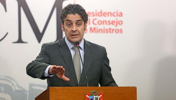 Ivo Gagliuffi renunció al cargo de presidente de Indecopi. (Foto:PCM)