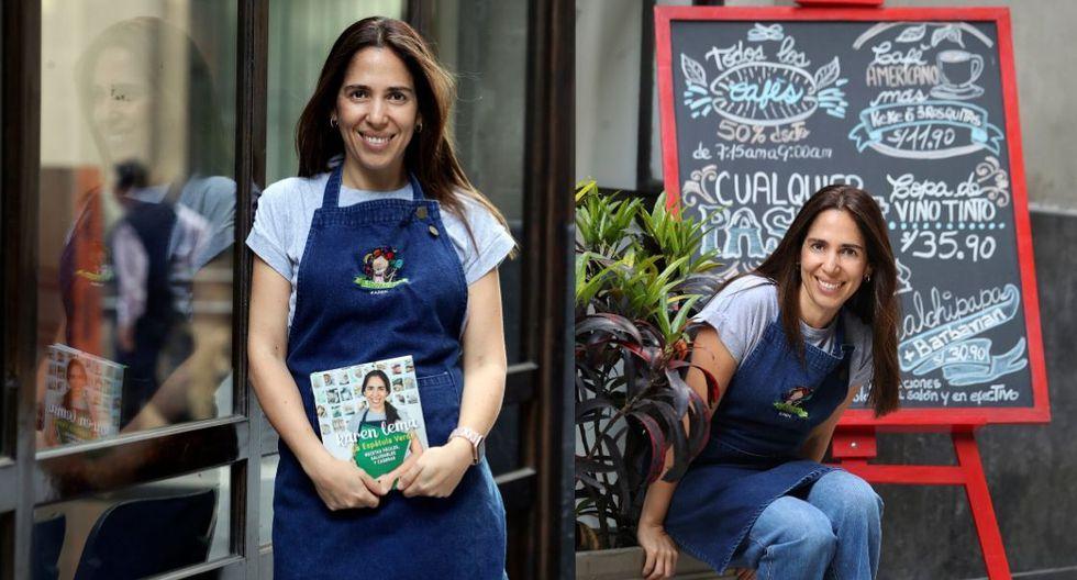 """""""Siento que si uno se empeña en la cocina no es complicado"""", dice Karen Lema. (Fotos: El Comercio / Rolly Reyna)"""
