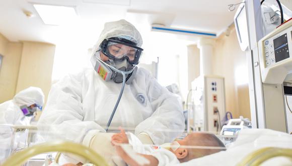 Se han confirmado 41.264 casos de niños de 0 a 11 años s contagiados de coronavirus. En el Instituto Nacional de Salud de Niño ha atendido 3.283 niños y adolescentes con cuadros respiratorio, de los cuales 160 casos han superado la enfermedad. (Foto: Archivo INSN)