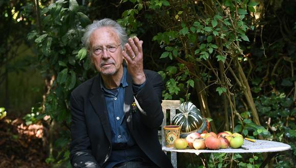 Peter Handke, premio Nobel de Literatura 2019. (Foto: AFP)