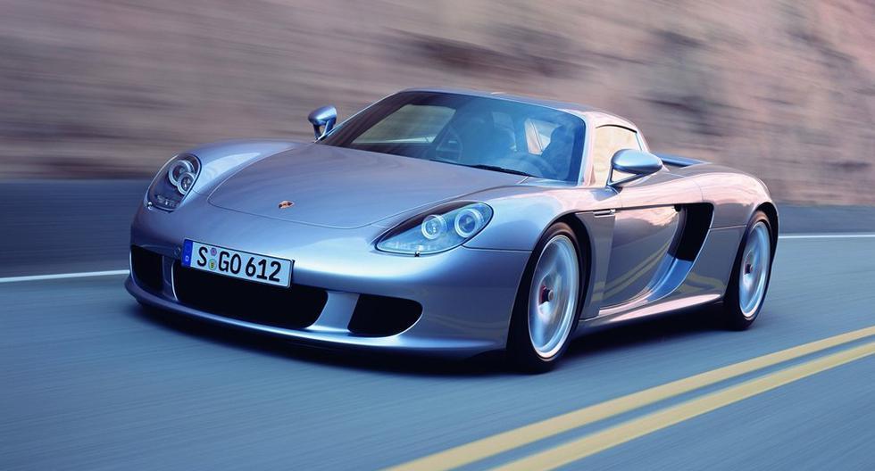 El Porsche Carrera GT equipa un motor V10 atmosférico de 5.7 litros que desarrolla 608 hp. (Fotos: Porsche).