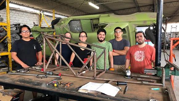 Kon: los universitarios que representan al Perú en concurso internacional de transporte sostenible. Participan 45 estudiantes de la UTEC.