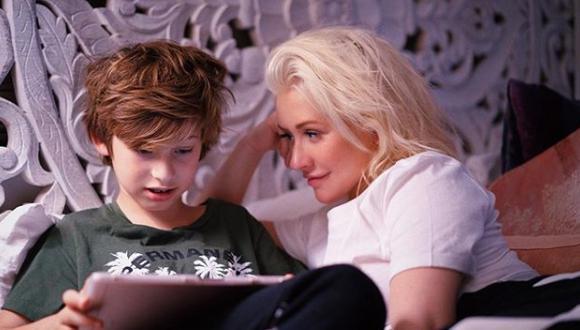 Max Liron Bratman, el hijo de Christina Aguilera. (Foto: Instagram)