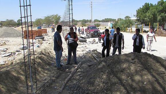 Frustran construcción de un cerco en la huaca tallán El Bosque