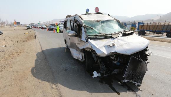 Uno de los conductores habría ingerido alcohol. (Foto: GEC)