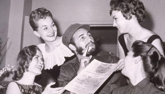 Fidel Castro siempre tuvo fama de mujeriego.