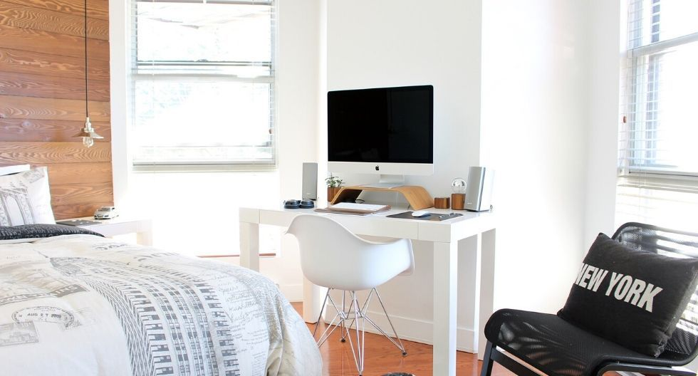 Haz que tu habitación se vea más grande. (Foto: Pixabay)