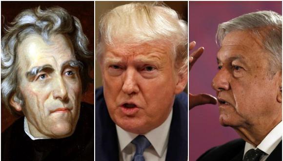 Andrew Jackson, Donald Trump y Andrés Manuel López Obrador, como perpetradores o como víctimas, han protagonizado algunas de las campañas electorales más sucias. (Wikimedia / AP)