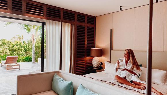 Engríete virtualmente con las actividades organizadas de cinco hoteles de lujo. / Foto: Le Barthélemy.