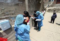 COVID-19: más de 600 jóvenes mayores de 18 años fueron vacunados en zona de casos de la variante Delta Plus en Ate