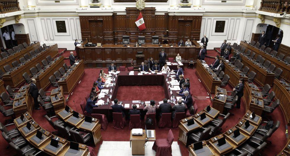 La Junta de Portavoces propuso a los integrantes de la Comisión Permanente y esto fue ratificado en el pleno. (Foto: Congreso)