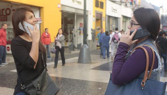 En el Perú se emplearon 258.4 millones de minutos en llamadas por día durante el 2020. (Foto: GEC)