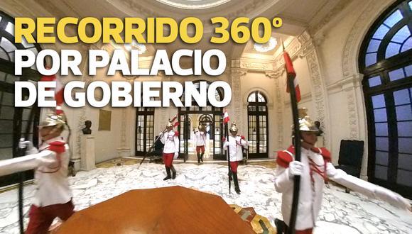 Los 80 años de Palacio de Gobierno: Recórrelo con un video en 360°
