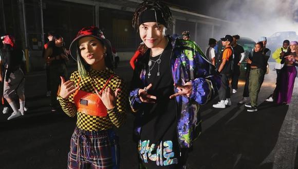 """La artista de reguetón Becky G y J-Hope, miembro de la exitosa banda de k-pop BTS, estrenaron el tema """"Chicken Noodle Soup"""". (Foto: instagram)."""