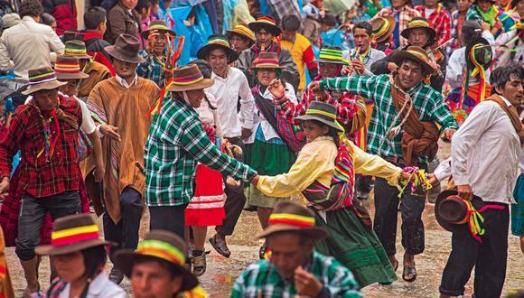 La fiesta combina sus carnavales con diferentes rituales alegres que anuncian el bienestar y la fecundidad. (FOTO: Flor Ruiz)