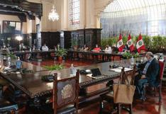 Gobierno ofreció una conferencia donde brindó un reporte de nuevos acuerdos por la pandemia y sobre último sismo