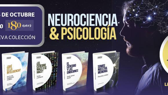 Una colección exclusiva del El Comercio son 30 ejemplares donde abarca la neurociencia y psicología el estudio del sistema nervioso y el comportamiento del cerebro/mente, el contenido ha sido elaborado de manera sencilla y amena para su entendimiento.