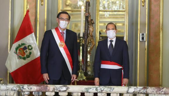 Walter Martos es el nuevo presidente del Consejo de Ministros. (Foto: Presidencia)