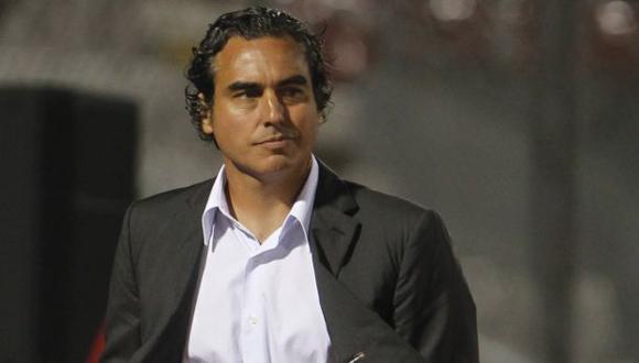 Chemo del Solar dirigió a César Vallejo en su debut ante Caracas FC (0-0) por la Copa Libertadores 2021. (Foto: AFP)