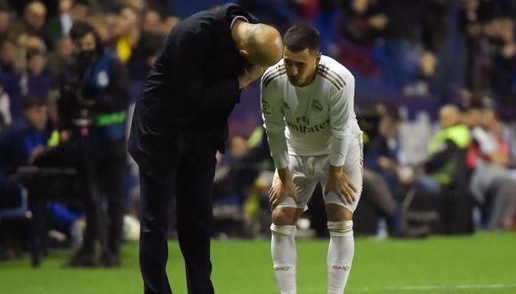 Eden Hazard ha participado en 15 partidos de Real Madrid en lo que va de la temporada. (Foto: AFP)