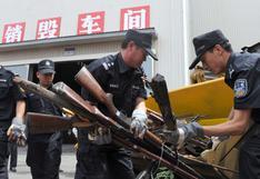 China es el segundo mayor productor de armas del mundo