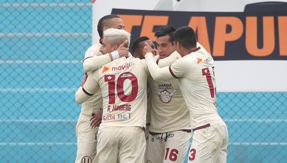 Los cremas definieron el juego en el segundo tiempo con goles de Hohberg y Santillán. El duelo se jugó en el estadio Alberto Gallardo. (Foto: Twitter Universitario)