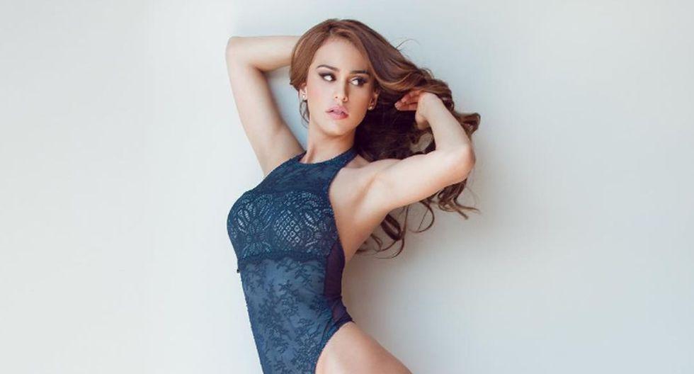 Yanet García suele compartir diversas fotografías como esta en sensual lencería de encaje azul. (Foto: Instagram)