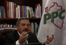 Elecciones 2021: Alberto Beingolea se inscribe como precandidato presidencial del PPC