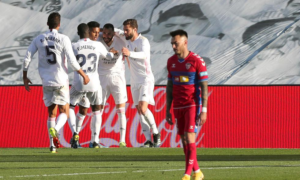 Real Madrid y Elche se enfrentaron en la fecha 27 de LaLiga Santander | Foto: EFE