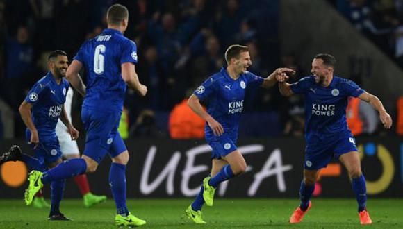 ¡Histórico! Leicester City ganó 2-0 a Sevilla y pasó a cuartos