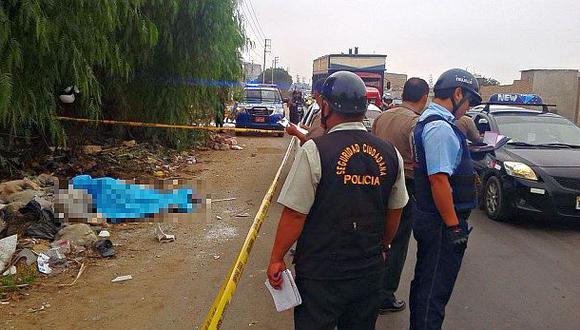 Trujillo: cadáver de joven policía fue hallado en la carretera
