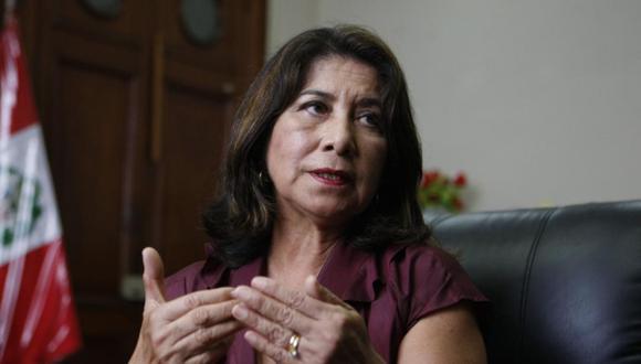 Martha Chávez indicó que este viernes su agrupación se reunirá para tomar acuerdos de cara a la instalación del nuevo Congreso. (Foto: GEC)