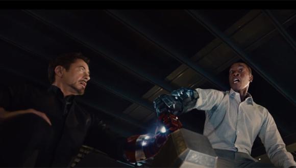 """""""Los vengadores"""": mira una nueva escena de """"La era de Ultrón"""""""