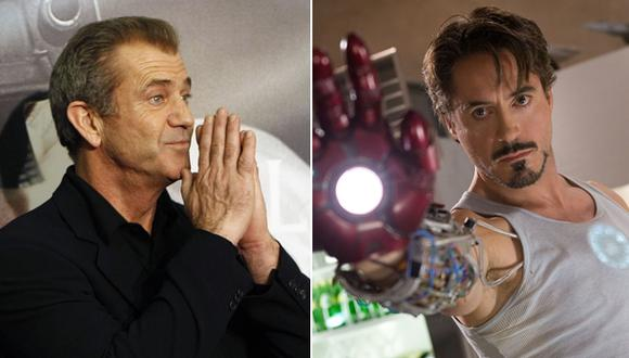 "Robert Downey Jr. quiere que Mel Gibson dirija ""Iron Man 4"""