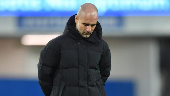 Pep Guardiola descarta que Manchester City realizará una gran inversión por fichar a un delantero. (Foto: Reuters)