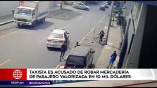 Taxista se da a la fuga con laptops gamer valorizadas en 10 mil dólares