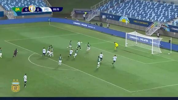 The 'Papu' Gómez scored 1-0 in Argentina vs.  Bolivia for Copa América 2021. (Video: TyC Sports)